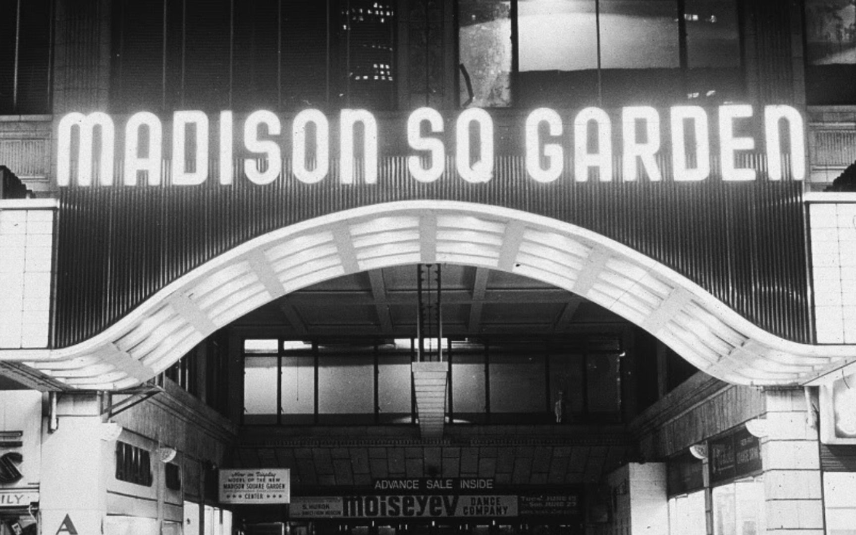 BA – Madison Square Gardens in the '40's